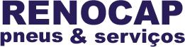 O logo Renocap sofre mais uma atualização, para abrigar a área de pneus novos e manter a gama de serviços oferecidos aos clientes.