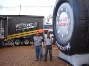 Truck-stop Bridgestone Posto Portelão 4 a 6abr13